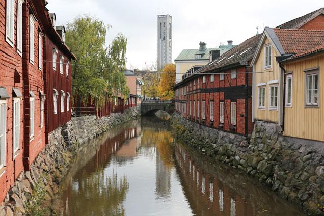 Svartån i Västerås